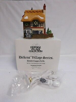 Dept. 56 ~ Dickens' Village Series ~ Betsy Trotwood's Cottage ~ #55506
