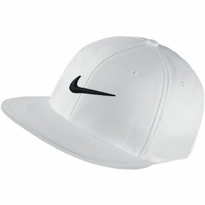 1bd9a36b044 NIKE GOLF TRUE Statement Fitted Flat Bill Cap 727032-852 MAX ORANGE ...