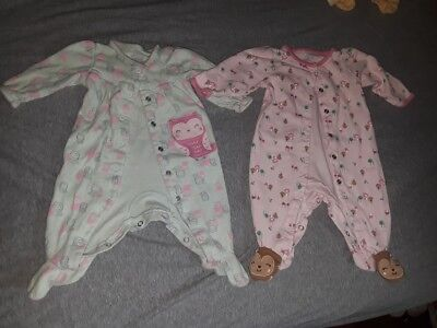 Infant, baby, clothes, 0-3 months, 4-Sleepers, EUC