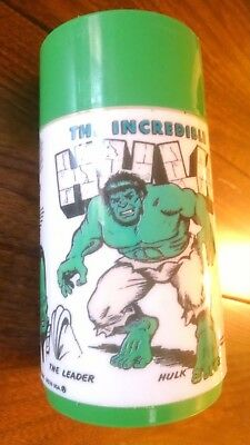 The Incredible Hulk Thermos Aladdin 1978