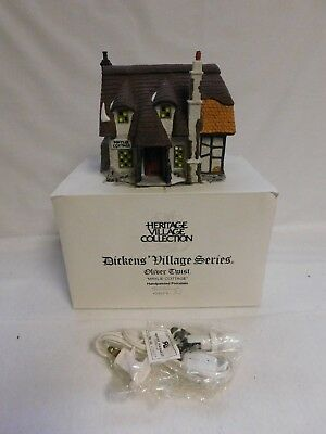 Dept. 56 ~ Dickens' Village Series ~ Oliver Twist ~  Maylie Cottage ~ 55530