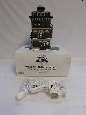 Dept. 56 ~ Dickens' Village Series ~ The Flat Of Ebenezer Scrooge ~ 55875