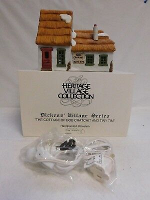 Dept. 56 ~ Dickens' Village ~ The Cottage Of Bob Cratchit & Tiny Tim ~ 65005