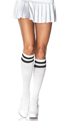 One Size Fits Most Womens Knee High Athletic Socks