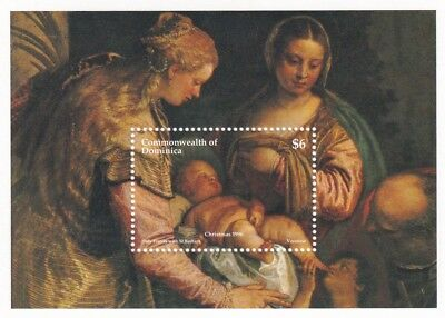 (21767) Dominica MNH Christmas Minisheet 1996 unmounted mint
