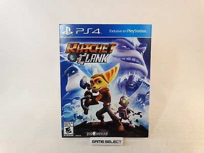 RATCHET & CLANK e and SONY PS4 PLAYSTATION 4 IMPORT REGION FREE ORIGINALE NUOVO