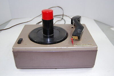 Vintage Crescent Model 451A 45 RPM Record Player Working