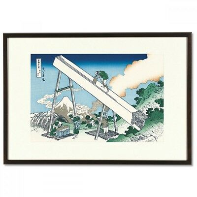 Hokusai Woodblock Print - Mount Fuji from the mountains - 36Views of Mt.Fuji