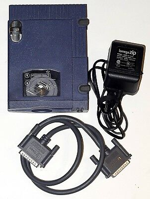 Iomega 100 External SCSI ZIP Drive Z100S2 Drive with Cable and Power Supply