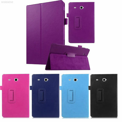 """Leather Tablet Stand Flip Cover Case Samsung Galaxy Tab E 9.6"""" / A6 10.1 / 3 / 4"""