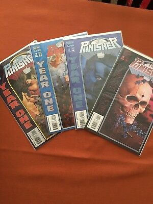 The Punisher Year One Set 1-4 Mint Condition