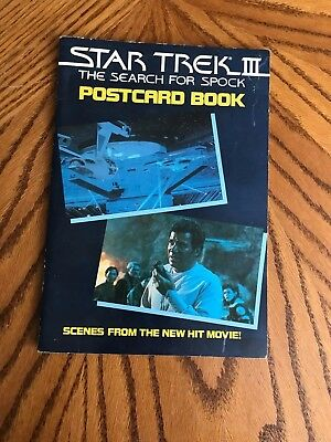 Star Trek III The Search for Spock Postcard Book