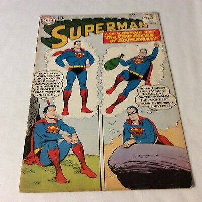 Superman Comic # 13 Vg cond.  The Two Faces of Superman