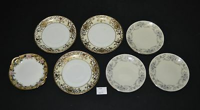 ThriftCHI ~ Nippon, Johann Haviland, and Unmarked Butter Pat Dishes(7)