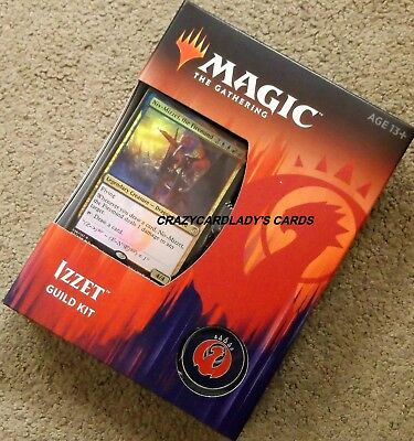 Magic The Gathering Guilds Of Ravnica Izzet Guild Deck Kit Free Shipping