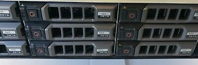 "Dell PowerVault MD3600i 36TB Storage Array WITH 12 x 3TB 7.2K SAS 3.5"" HDD"