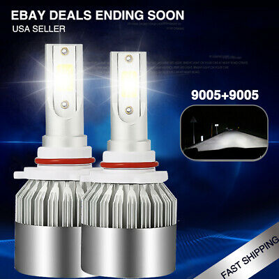 2x Hid White Fog Lights Led Bulbs For Subaru Impreza