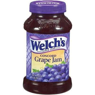 Welch's Concord Grape Jam 500mL- Best Before 6th October 2018