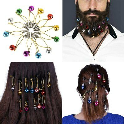 6/12/16 pcs Beardaments Light Christmas Ornaments Beard Baubles with MINI-CLIPS