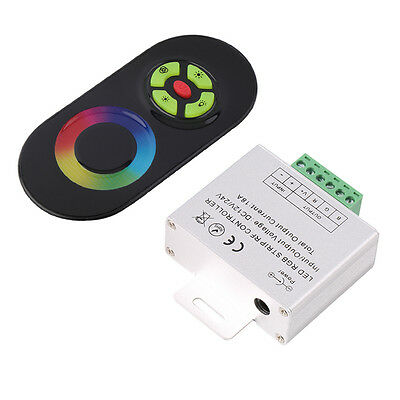 RF Wireless Touch Panel Remote Controller For RGB LED Strip Light DC 12V/24V ARX