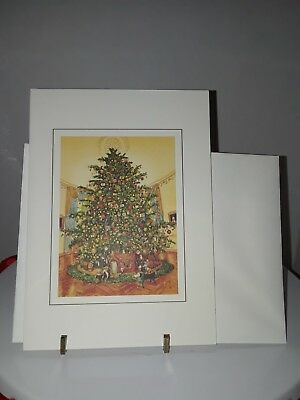 1988 White House Collection Republican Christmas Greeting Card Vintage Reagan