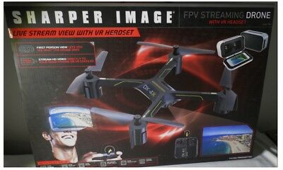 Sharper Image Dx 4 Hd Video Fpv Streaming Drone 8499 Picclick