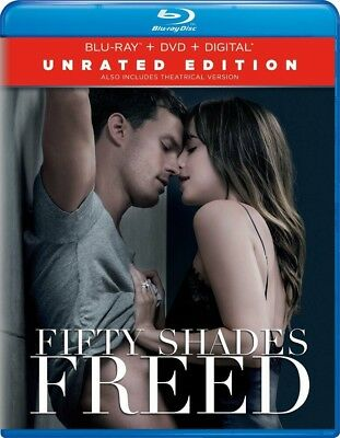 BLU-RAY Fifty Shades Freed: Unrated Edition (Blu-Ray/DVD) NEW