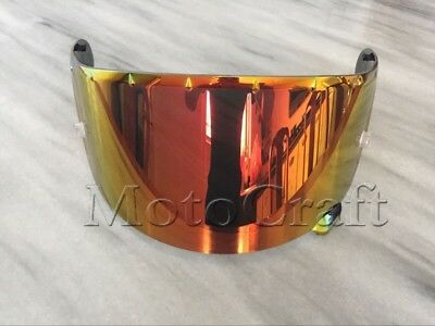 Golden red strengthen Visor Shoei CWR-1 NXR RF-1200 X-Spirit 3 X-Fourteen Z-7