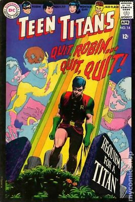 Teen Titans (1st Series) #14 1968 VG- 3.5 Stock Image Low Grade