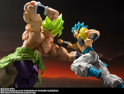 Bandai S.H.Figuarts Dragon Ball Movie Super Saiyan Blue Gogeta+Broly Full Power