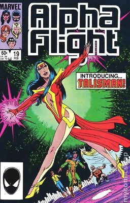 Alpha Flight (1st Series) #19 1985 VG 4.0 Stock Image Low Grade
