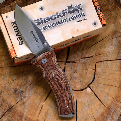 Black Fox Kuma Design By Antonio Di Gennaro Coltello Camp (Folding Knife) Bf-703