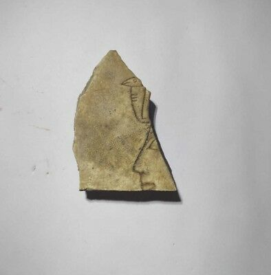 Rare Ancient Egyptian Royal Relief Fragment  of a Woman