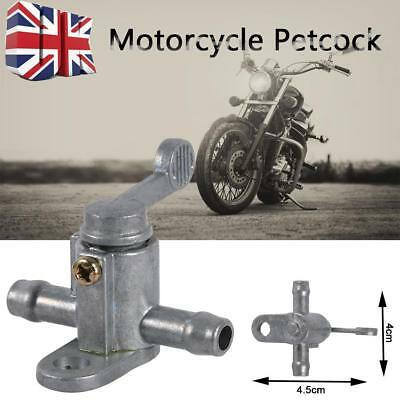 Motorcycle Fuel Tank Tap On/Off Petcock Switch For Dirt Bike 8mm 5/16'' Inline