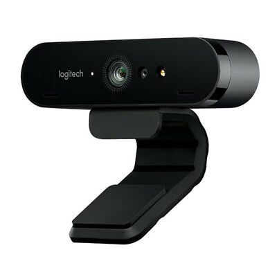 Logitech Brio 4K Ultra HD webcam with RightLight 3 with HDR, 5x Digital Zoom, In