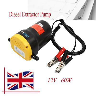 Oil Extractor Pump Diesel Fluid Extractor for Motorcycles And Other 12v Vehicles