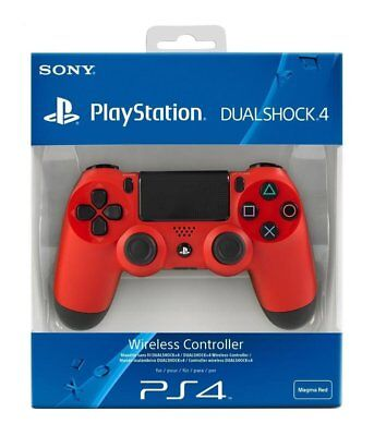 Sony PS4 Dualshock 4 V2 Magma Red Controller
