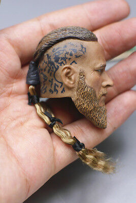 """1/6th Viking head sculpt Pirate Captain For 12"""" HT Male Action"""