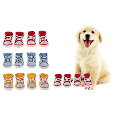 4Pcs Outdoor Dog Shoes For Sports Mountain Wearable For Small Pets
