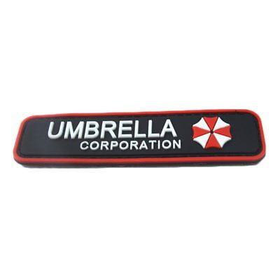 3D Umbrella Corporation Klett Patch B-Ware Paintball Resident Evil Gaming Merch