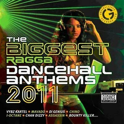 Biggest Ragga Dancehall Anthems 2011 (1 CD Audio) - Various Artists