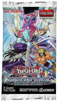 Konami YGO Booster Pack Dimensional Guardians Booster Pack MINT