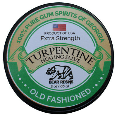 Turpentine Salve  Skin repair, Muscle Pain, Nerve Pain, Eczema, Burns, Psoriasis