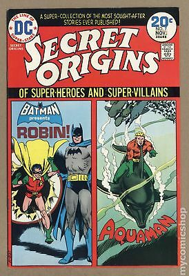 Secret Origins (1st Series) #7 1974 FN/VF 7.0