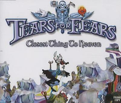 """Tears For Fears Closest Thing To Heaven UK CD single (CD5 / 5"""") promo"""