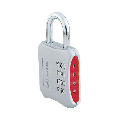 Master Lock 653D Set Your Own Combination Padlock - 1 Pack - Assorted Colors