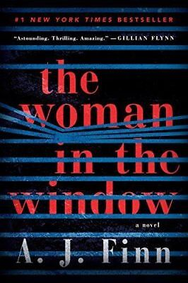 The Woman in the Window: A Novel by A. J. Finn NEW 2018,Fast Delivery .