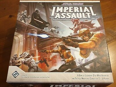 Star Wars Imperial Assault Board Game AS NEW