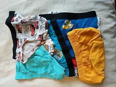 Cars McQueen and JCB - Potty Training Pants 3-4 years