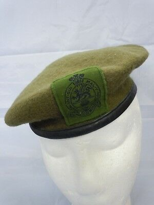6b948a6b British Army Military Beret Princess of Wales Royal Regiment PWRR With Badge